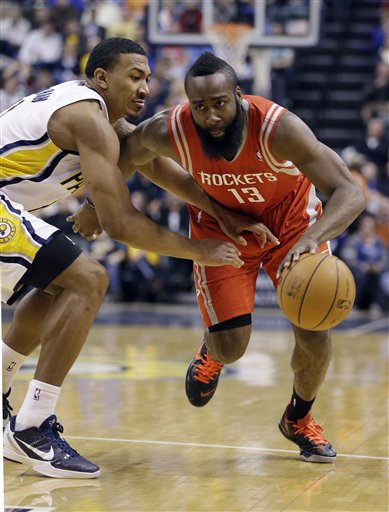 Orlando Johnson, James Harden