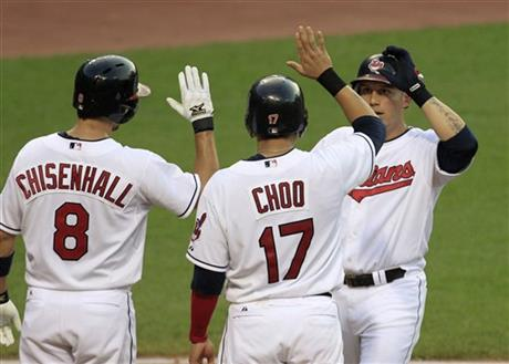 Asdrubal Cabrera, Shin-Soo Choo, Lonnie Chisenhall