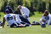 Seahawks Rookie Camp