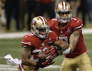 LaMichael James, Colin Kaepernick