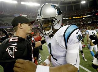 Cam Newton, Matt Ryan