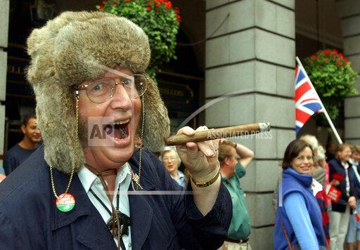 John McCririck File Photo