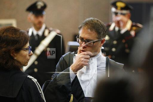 ADDITION Italy Police Slaying Trial