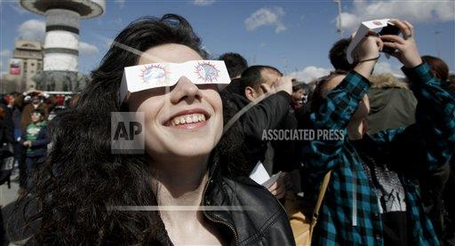 Macedonia Europe Solar Eclipse