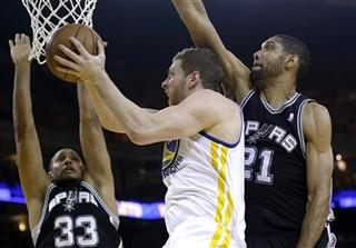 David Lee, Boris Diaw, Tim Duncan