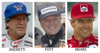 Indy 500 All-Time Grid Auto Racing