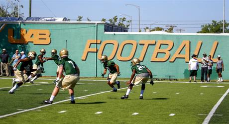 UAB Football Back