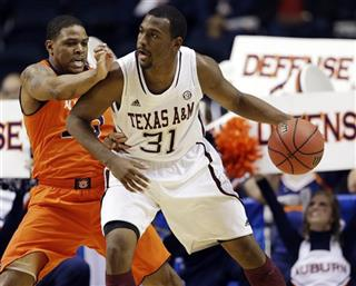 SEC Texas A M Auburn Basketball