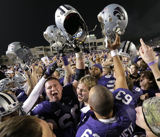 APTOPIX Texas Kansas St Football
