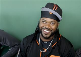 Giants Cueto Spring Baseball