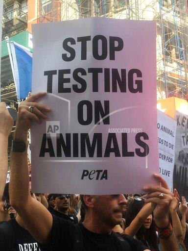 Animal Rights March 2019 in NYC
