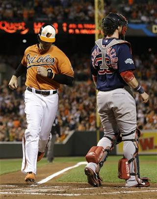 Chris Davis, Jarrod Saltalamacchia