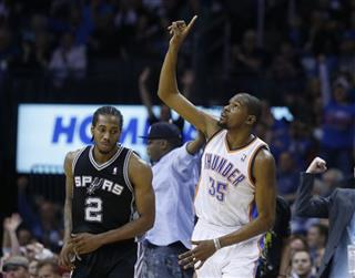 Kevin Durant, Kawhi Leonard