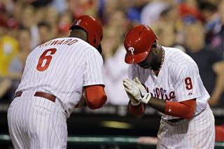 Ryan Howard, Domonic Brown