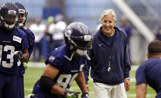 Doug Baldwin, Pete Carroll