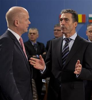 William Hague, Anders Fogh Rasmussen