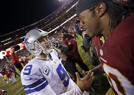 Tony Romo, Robert Griffin III