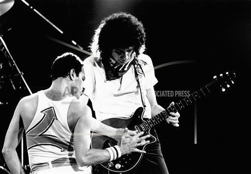PGroup Gary Gershoff / MediaPunch/MediaPunch/IPx A ENT New Jersey USA IPX Freddy Mercury of Queen