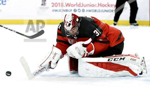 World Juniors Switzerland Canada Hockey