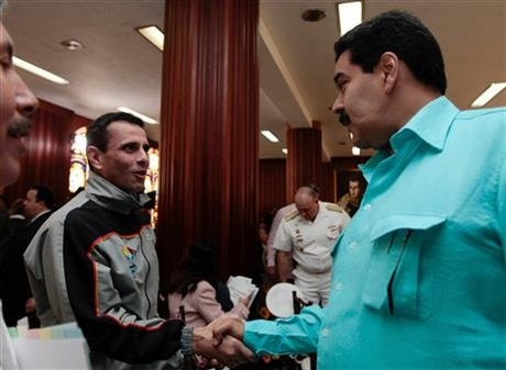 Nicolas Maduro, Henrique Capriles