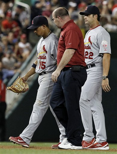 Greg Hauck, Rafael Furcal, Mike Matheny