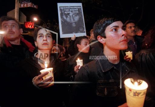Associated Press Domestic News New York United States SHEPARD VIGIL