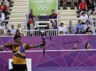 London Olympics Archery Men