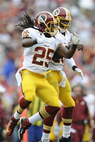 Tim Hightower, Robert Griffin III