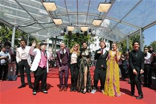 France Cannes American Honey Red Carpet