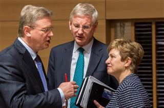 Carl Bildt, Guido Westerwelle, Kristalina Georgieva