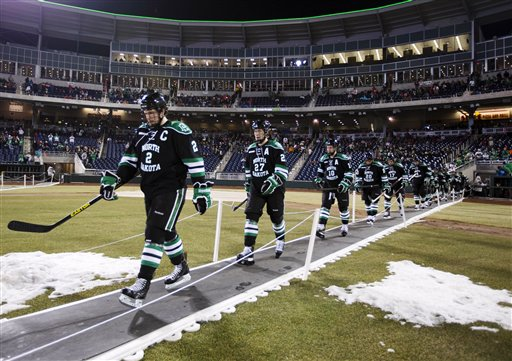 North Dakota Nebraska Omaha Hockey