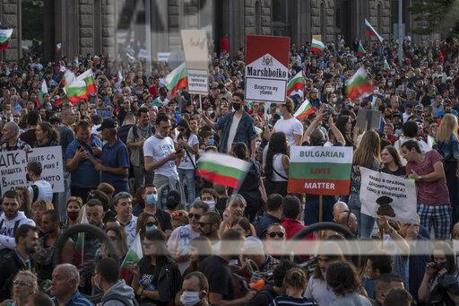 Bulgaria Protest Corruption