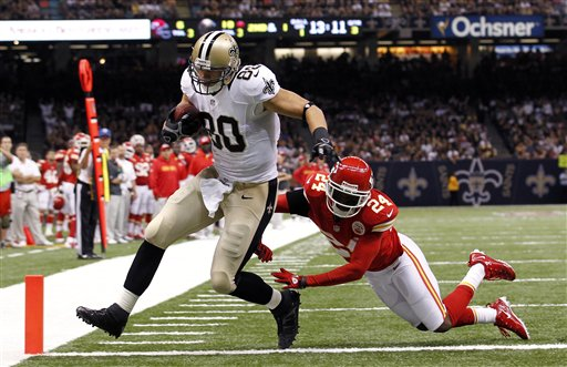 Jimmy Graham, Brandon Flowers