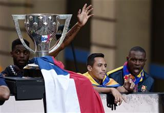 Alex Song, Alexis Sanchez, Eric Abidal