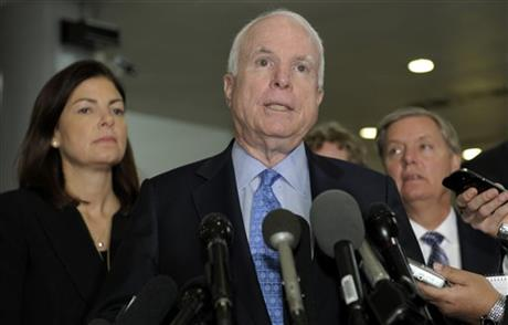 John McCain, Lindsey Graham, Kelly Ayotte