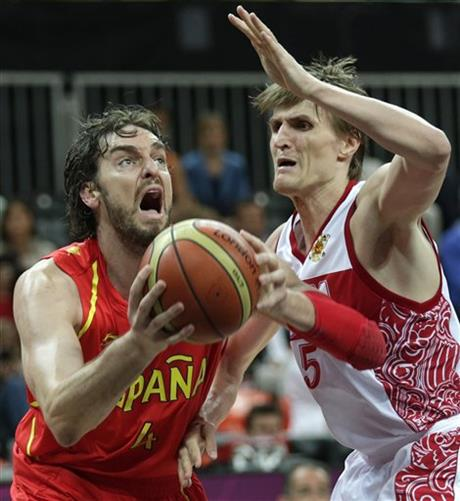 Pau Gasol, Andrei Kirilenko