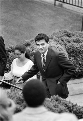 Nader Attends Cox Nixon Wedding 1971