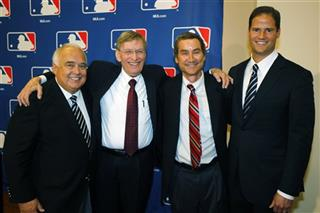 Ron Fowler, Bud Selig, Peter Seidler, Kevin O&#039;Malley