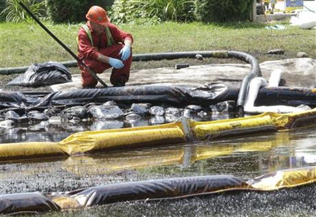 Michigan River Oil Spill