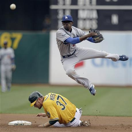 Dee Gordon, Brandon Moss