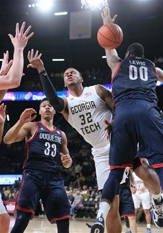 Duquesne Georgia Tech Basketball