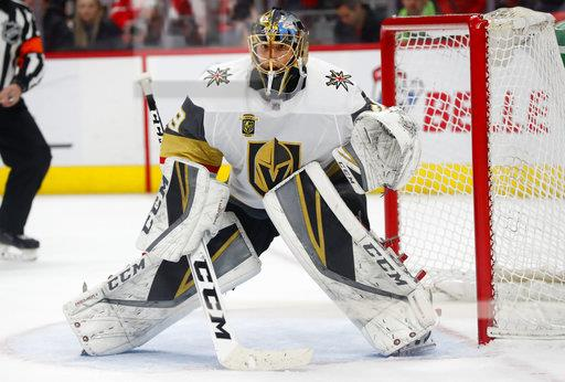 Golden Knights Red Wings Hockey