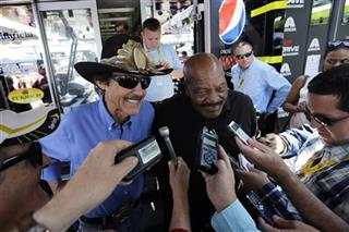 Richard Petty, Jim Brown