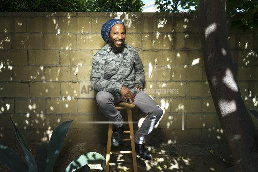 Ziggy Marley Portrait Session