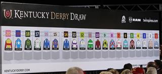 Kentucky Derby Draw Horse Racing