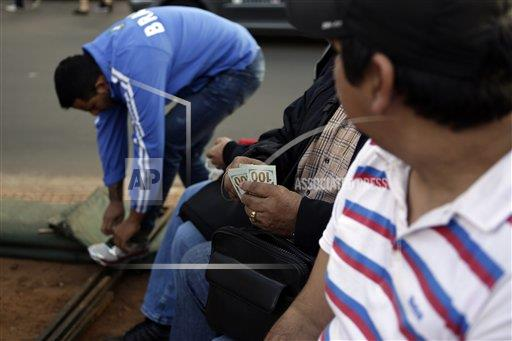 Paraguay Contraband Crackdown