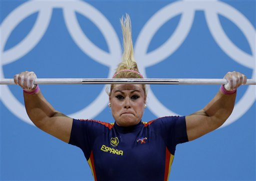 APTOPIX London Olympics Weightlifting Women