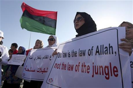 APTOPIX Mideast Libya Militia Backlash
