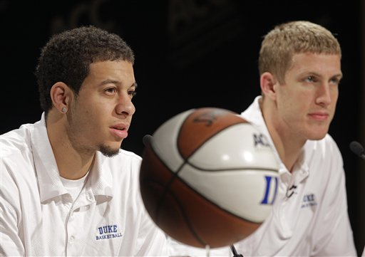 Seth Curry, Mason Plumlee