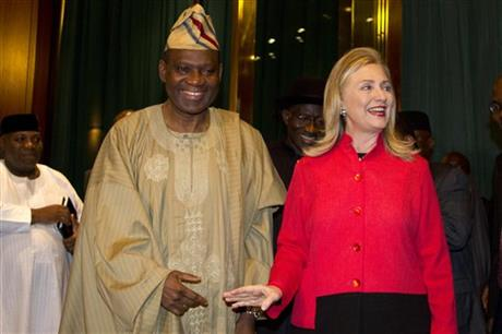 Hillary Rodham Clinton, Olugbenga Ashiru